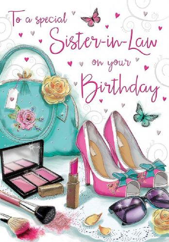 To A Special Sister-In-Law On Your Birthday